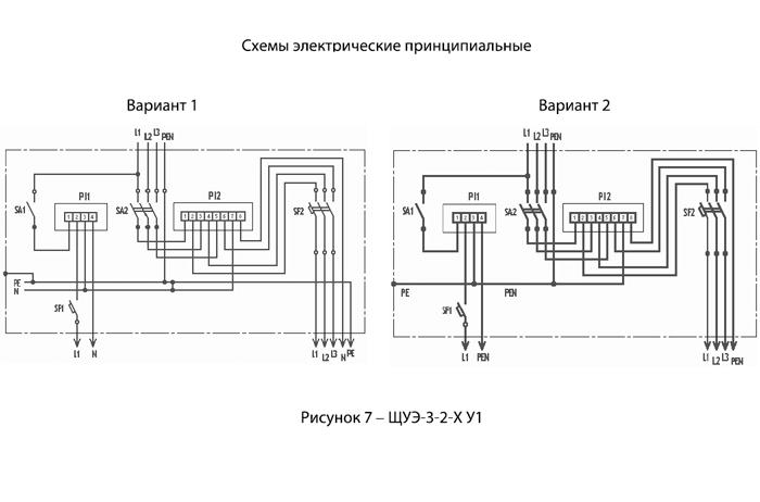 Схема выносного учета электроэнергии
